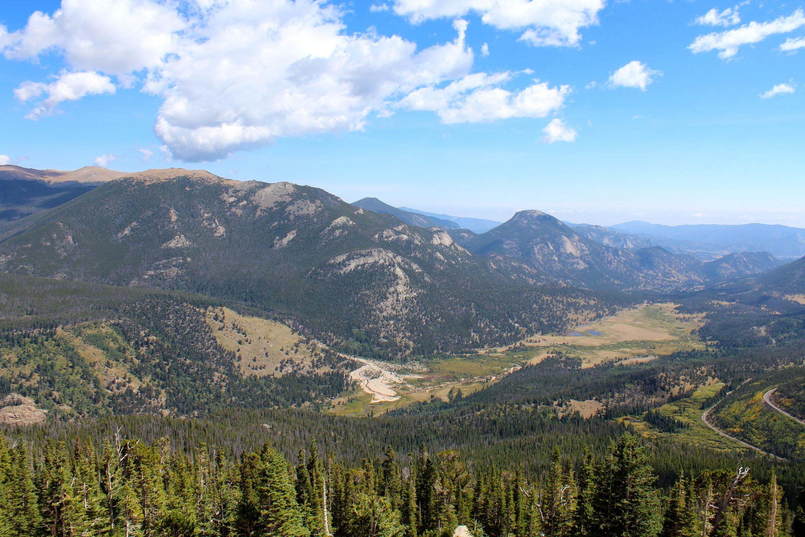 Rocky Mountain and Lake Grandby